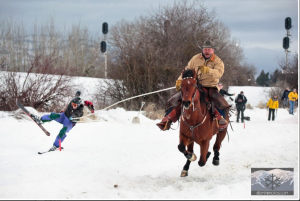Ski Joring II